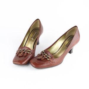 Antonio Melani Shoes Pumps Chain Embellished